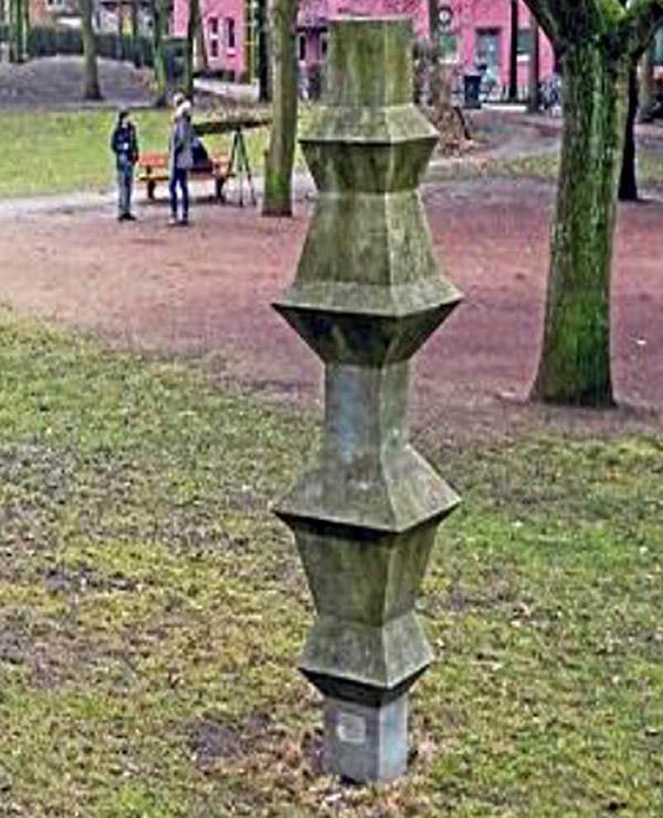 Lohmühlenpark: Dolomitsäule