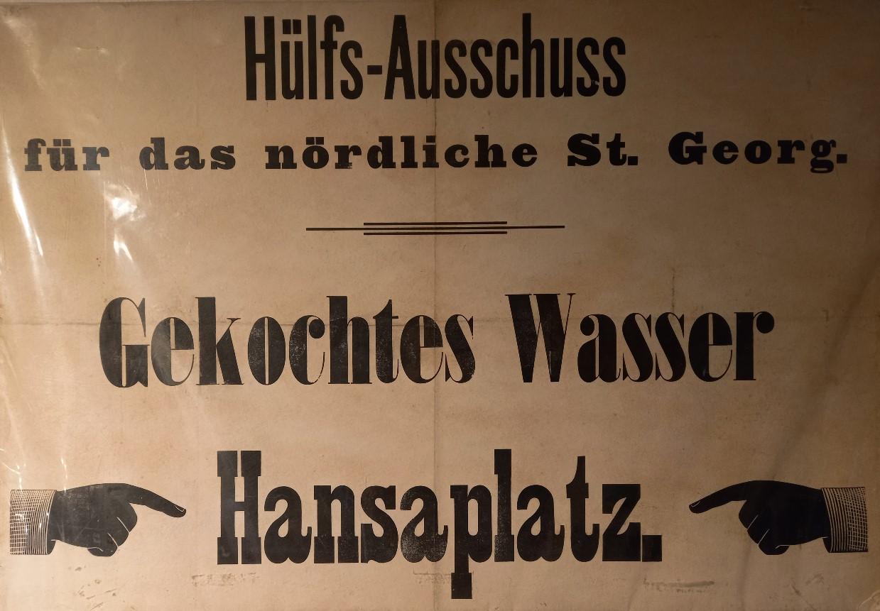 Gekochtes Wasser am Hansaplatz